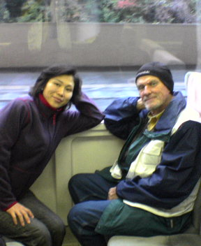 Kayo on Train!