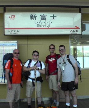 @Shin-Fuji Station