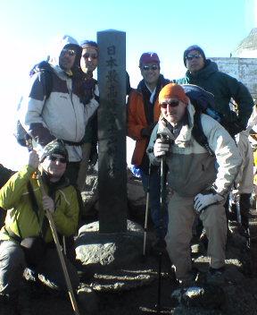 Team Makes Summit!!